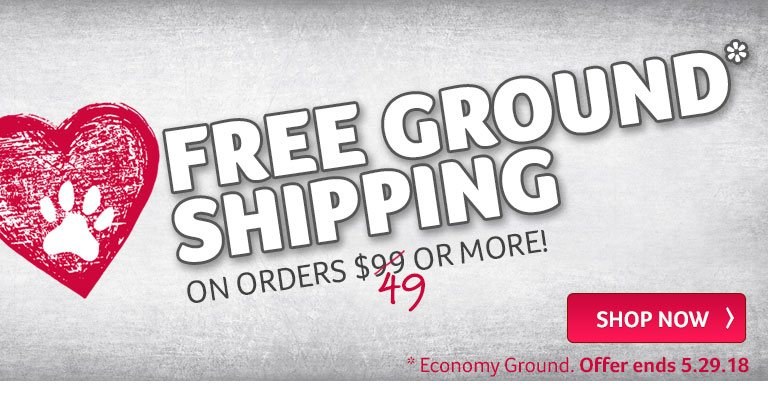 Free Ground Shipping On orders $49 or more!