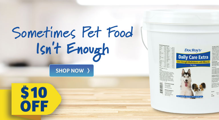 Sometimes Pet Food Isn't Enough